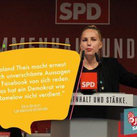 Jusos Saar zu Roland Theis: Ehrabschneidende und unverschämte Aussagen über Demokrat Bodo Ramelow.