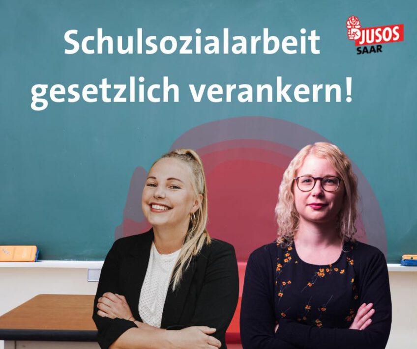 Schulsozialarbeit im Schulmitbestimmungsgesetz gesetzlich verankern!