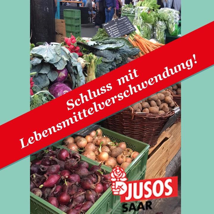 Jusos an der Saar sagen Lebensmittelverschwendung den Kampf an