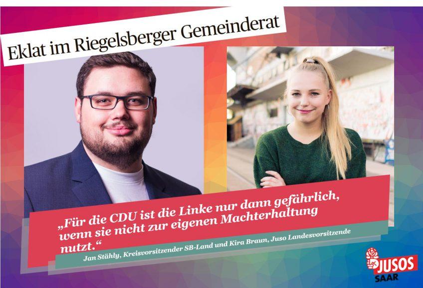 Jusos an der Saar verwundert über Zusammenarbeit von CDU und Linke
